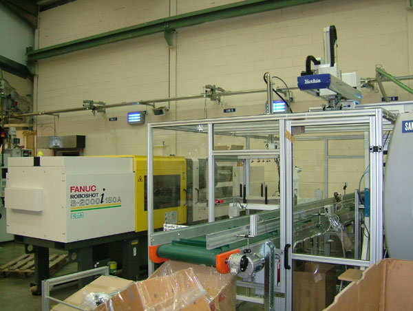 Fanuc Roboshot machine