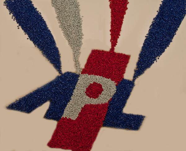 Coloured Plastic Granules - Automatic Plastic Logo